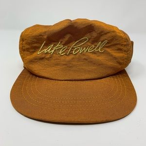 Vintage 90s Lake Powell 5 Panel SnapBack Hat Cap